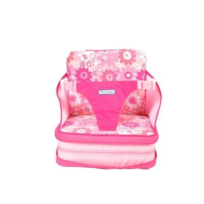 Chaise Haute Portable Autogonflant Rose