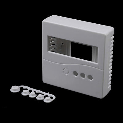 86Plastic project box enclosure case for diy LCD1602 meter testers withbuttonsA!