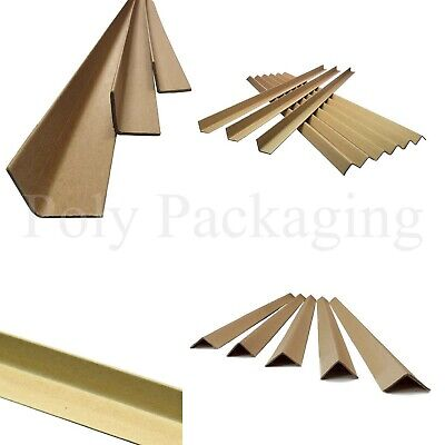 100 x PALLET EDGE PROTECTORS 35x35mm(Apex)x3mm(Thickness)x1.5m(Length)