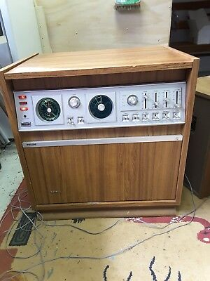 Vintage phillips 4 speaker stereo with RS speakers x2 part working