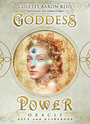 Goddess Power Oracle Deck and Guidebook by Colette Baron Reid Cards Self-Help