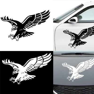 Car Stickers Reflective Eagle Decal Vinyl Auto Door Hood Cover Sticker Exterior☆