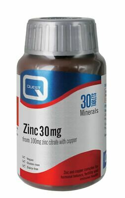 Quest Zinc Citrate 30MG 30 tablets