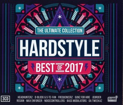 Hardstyle Ultimate Collection - Best Of 2017  3 Cd New