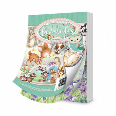 Hunkydory The Little Book of Forest Favourites - Sample Pack 24 sheets x A6