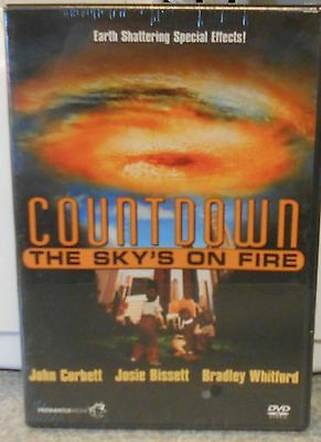 Countdown: The Sky's On Fire (DVD 2006) RARE SCI FI THRILLER BRAND NEW