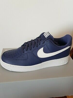 the best attitude ace03 f777e Nike Air Force 1 07 Lthr Blue Recall/white Trim Aa4083 401 Size Uk 11Eur