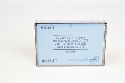 Sony Video head Cleaning cassette V8-6CLHSP 8mm/Hi8