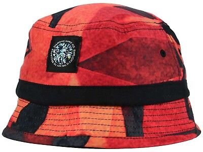 DIAMOND SUPPLY CO - Simplicity Bucket Hat - Red/Black - Semi-Fitted - NEW