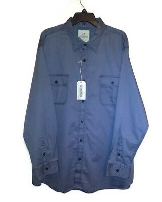 00f111173162c Men s Outdoor Life Shirt Long Sleeve Gray Button Up Size XXL 2XL NWT Sears