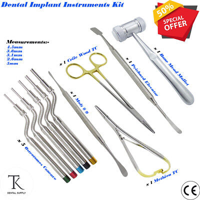 Ostéotomies Concave Pointe Aiguille Support OS Maillet Dentaire Implants