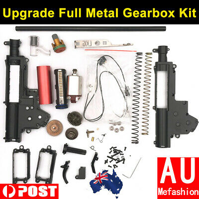 Upgrade Full Metal Gearbox Kit Gel Ball Blaster Toy For JinMing 8th M4A1 SCAR V2