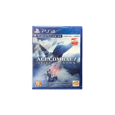 Ace Combat 7 Skies Unknown PlayStation PS4 PSVR 2019 Chinese Pre-Owned