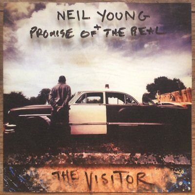 Neil & Promise Of The Real Young - The Visitor Softpak  Cd New