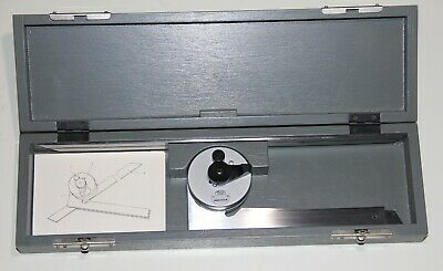 Carl Zeiss Universal Bevel Protractor, 150 mm, 300 mm Blade Length