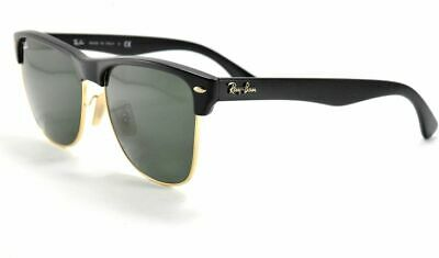 351224e01f Ray-Ban Clubmaster Oversized Sunglasses RB4175 877 Demi Shiny Black Arista