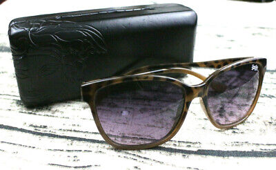 bfcb97a1a5b4 Superdry Womens Sunglasses Leopard Print Butterfly Glasses With Versace Case