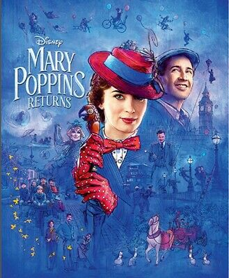 Mary Poppins Returns 4K Ultra Hd Disc Only | Region Free | Emily Blunt