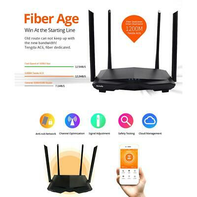 OPENWRT 1200MBPS WIRELESS Router High Power Dual Band Wifi Router 4