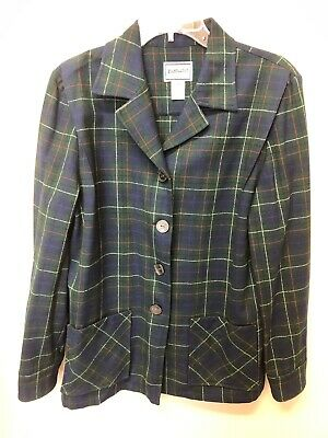 Pendleton 49'er green, blue red white Tartan plaid limited edition jacket sz.M