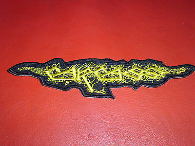 Carcass Old Logo Patch Grindcore Napalm Death