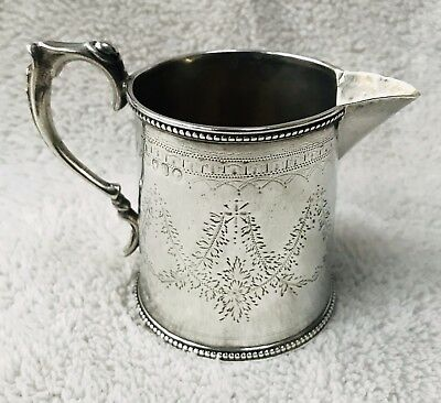 LOVELY SOLID SILVER CHRISTENING CUP, LONDON 1870 100.5g / 3.55oz