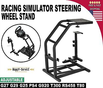 Racing Simulator Steering Wheel Stand G920 G29 T300RS Art For T80 Mini PS4 G27