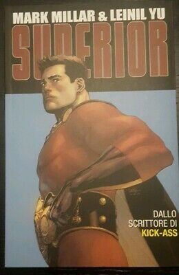 Superior Mark Millar E Leinil Yu 100% Panini Comics  best