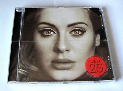 Adele 25 Cd 2015 Xl Recordings New & Sealed Made In Eu