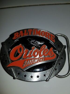 f3a69c96e Vintage Baltimore Orioles belt buckle. Made by Siskyou. New Old Stock.