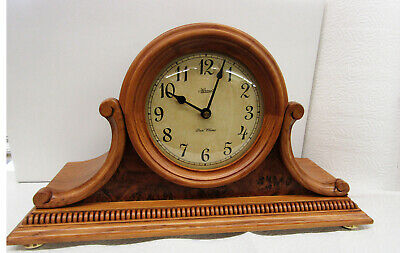 "New Version Hermle Quartz  Mantle Clock  ""Scottsville"" W/Triple Chimes 21132 Iq9"