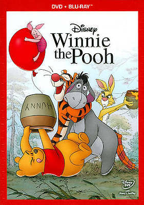 "Disney's ""winnie The Pooh"" (Dvd/blu-Ray-2011)-2 Disc Set-Like New Condition!"