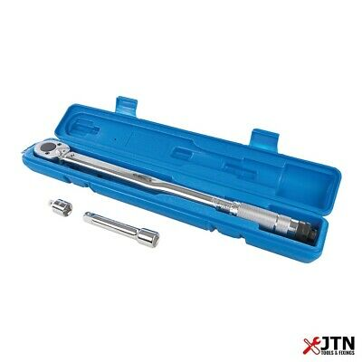 """Silverline 633567 Torque Wrench 1/2"""" Drive 28 - 210Nm"""