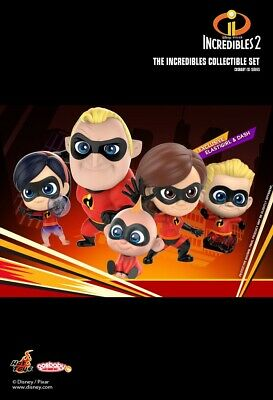 Hot Toys Cosbaby Incredibles 2 Collectible Set COSB480