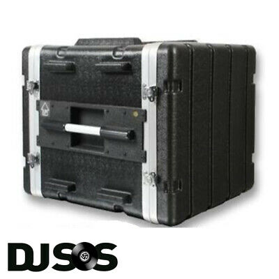 ABS 8u Rack Case | Flight Case - Rack Mount I Cabinet | Equipment Case | DJ