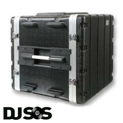 ABS 10u Rack Case | Flight Case - Rack Mount I Cabinet | Equipment Case | DJ