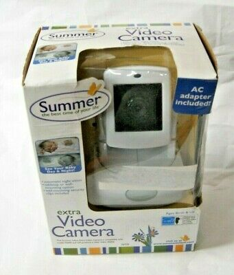Summer Infant Extra Video Camera Model 02730 Used For Best View Monitor 02640
