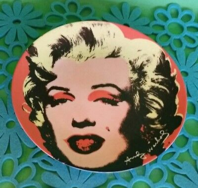 ALLISON LEFCORT Marilyn Monroe Hand Signed Limited Editon Lithograph Andy Warhol