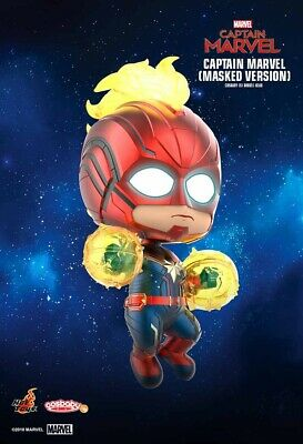 Hot Toys Cosbaby Captain Marvel (Masked Version)  COSB545