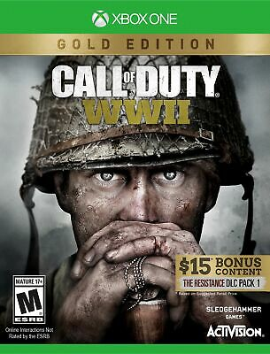 Call of Duty: WWII Gold Edition - Xbox One SN210162