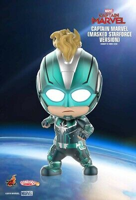 Hot Toys Cosbaby Captain Marvel (Masked Starforce Version) COSB544