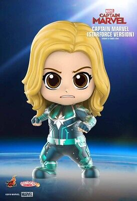 Hot Toys Cosbaby Captain Marvel (Starforce Version)  COSB543
