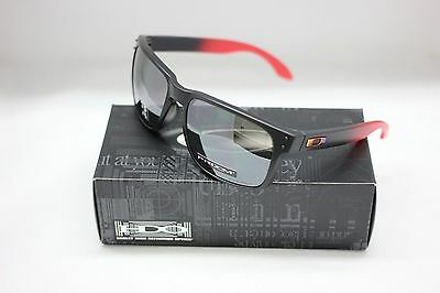 2b7b4bb4877 NEW OAKLEY HOLBROOK Ruby Fade w POLARIZED PRIZM BLACK Lens Sunglass ...