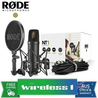 Brand New Rode NT1 Kit Professional Studio Condenser Microphone Kit (NT1KIT)