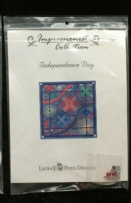 Laura J. Perin Designs Impressionist Collection Charted Needlepoint/Independence