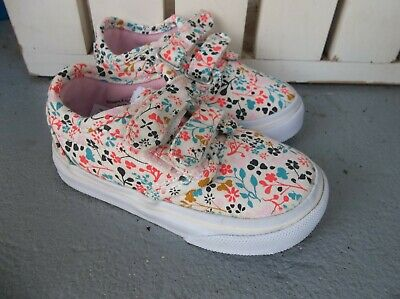 e35601d6ea Nwt Vans Girls Toddler Atwood V Floral Sneakers shoes.size 5.brand New