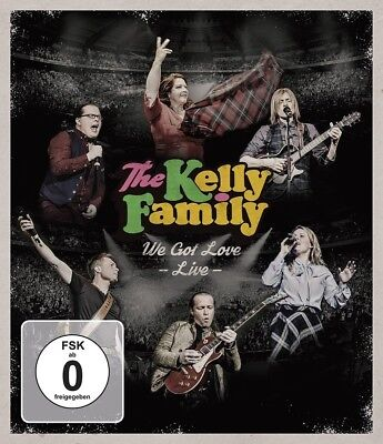 The Kelly Family - We Got Love-Live (Bluray)   Blu-Ray New