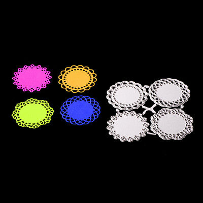 Round lace circle Metal cutting dies stencil scrapbooking embossing album —AY