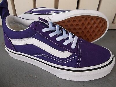 370dcb4051 NWT VANS GIRLS YOUTH Uy Old Skool Elastic Lace Sneakers shoes Size ...