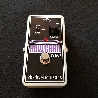 NEW EHX Electro-Harmonix Holy Grail Neo Reverb Effects Pedal Heavenly Hall Sp...